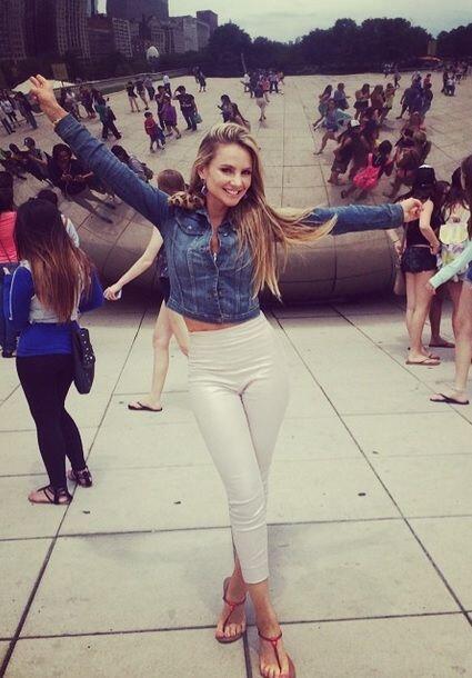 """I LOVE CHICAGO"", dijo Ximena Córdoba. (Julio 25, 2014)"
