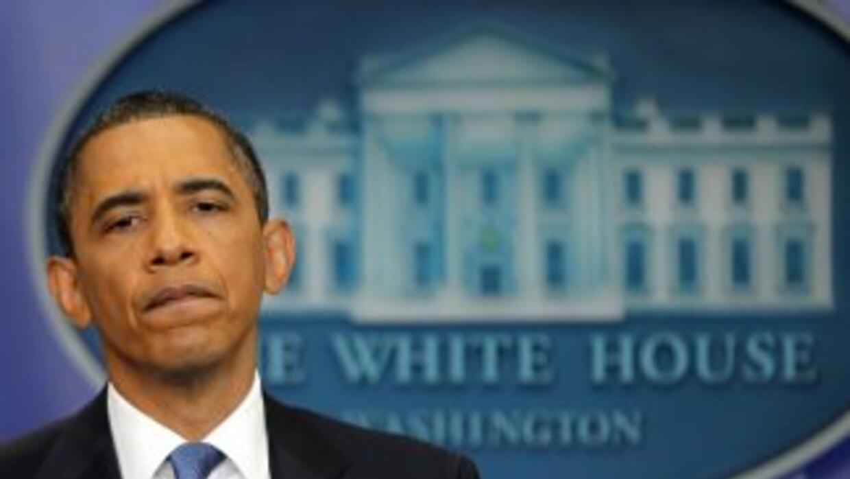 Barack Obama comentó que está preocupado por el impacto de 'Sandy'.