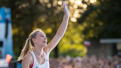 Janja Garnbret, la campeona mundial de escalada que buscará la gloria olímpica