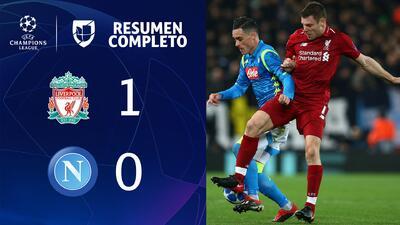 Liverpool 1-0 Napoli - GOL Y RESUMEN - Grupo C - UEFA Champions League
