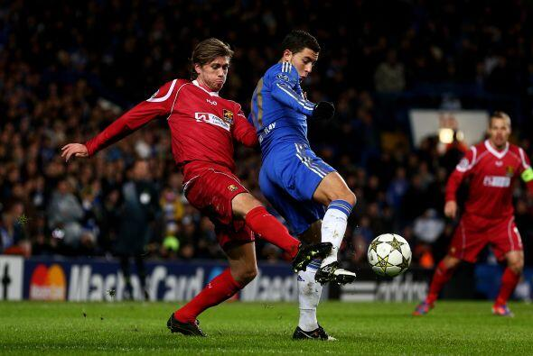 Chelsea, el aún campeón de la Liga de Campeones, recibió al Nordsjaellan...