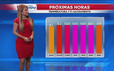 Continúa el calor extremo en Sacramento