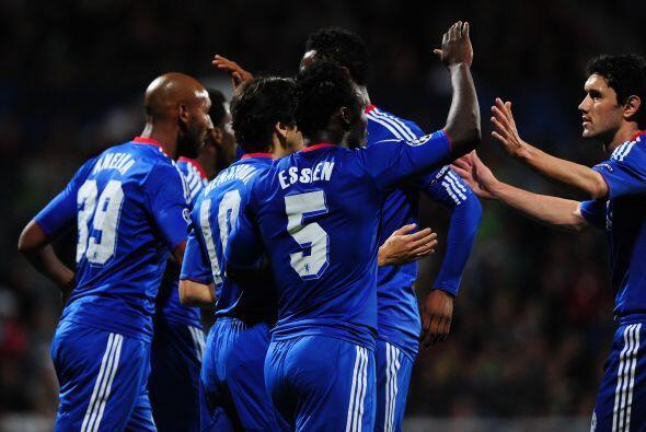 Otro inglés, el Chelsea, fue a eslovaquia a la cancha del Zilina.