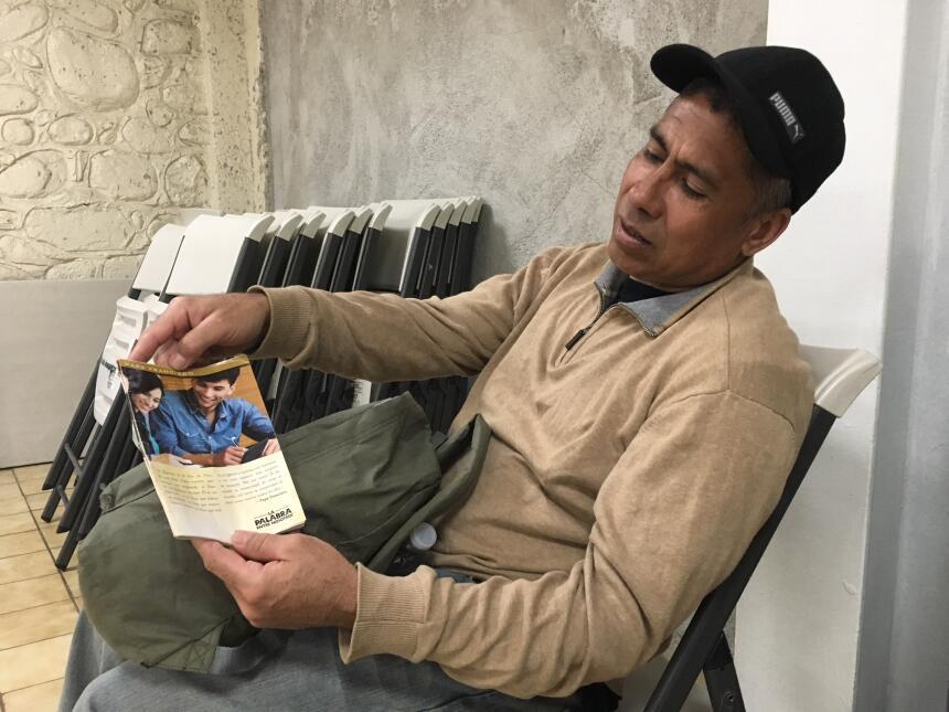 El mexicano Javier Escalera era jornalero en Los Ángeles, hasta que lo d...
