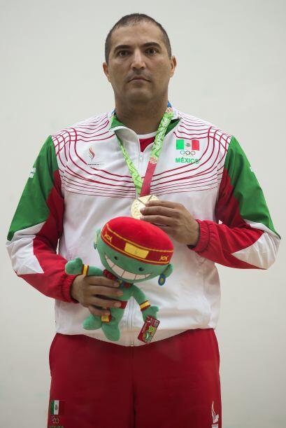 El racquetbolista mexicano Álvaro Beltrán se coronó bicampeón de singles...