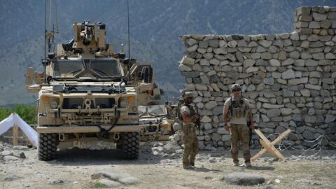 Este mes han muerto tres soldados estadounidenses en Afganistán