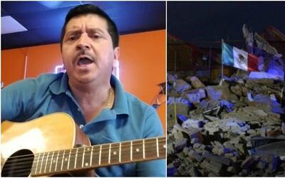 Miguel Gastelum grabó un corrido en relación al terremoto que sorprendió...