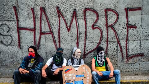 Opositores se concentran cerca de donde murió el joven activista...