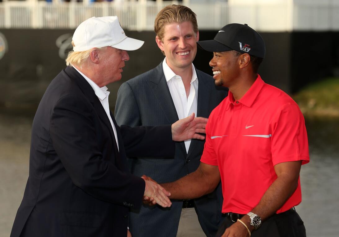 Los amigos de Donald Trump en el golf internacional gettyimages-16348020...