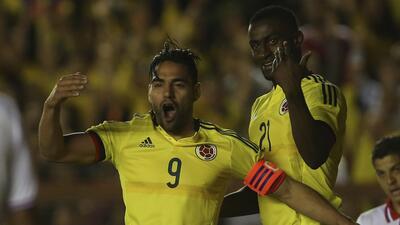 Falcao le dio el triunfo a Colombia y es el máximo anotador de su selecc...