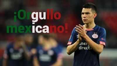 El Chucky Lozano, elegido entre los 100 mejores futbolistas del mundo, según The Guardian