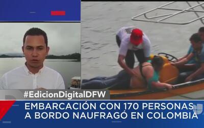 Continúan las labores de búsqueda tras el naufragio de una embarcación e...