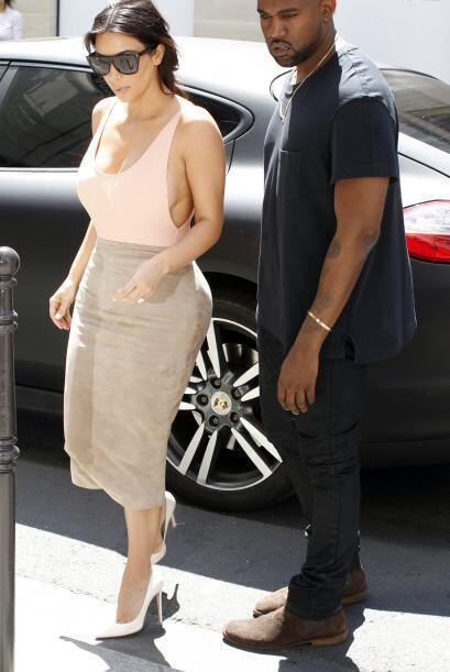 Estaba acompañada por su amado Kanye West.Mira aquí lo último en chismes.