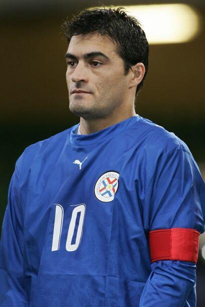 El paraguayo Roberto Acuña es uno de lo más experimentados en su país. L...