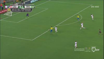 Brasil buscaba el tercero, pero Firmino se equivocó