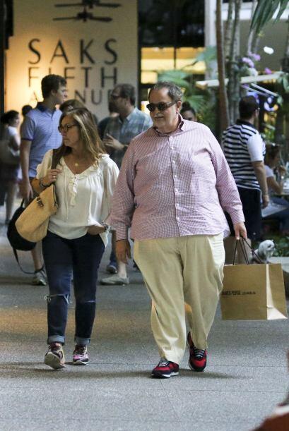 El Gordo ya llevaba una bolsa de una conocida marca de ropa, ¿será acaso...