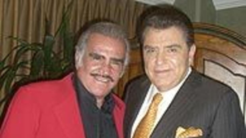 Vicente Fernández compartió una tarde de plática con Don Francisco c4e79...