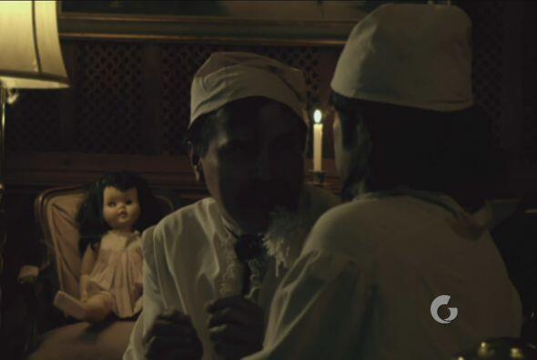 Procopio y Zacarías tenían miedo de la muñeca.
