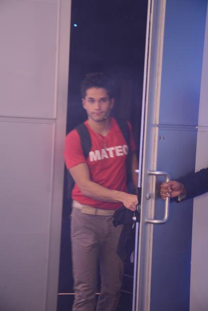 La salida de Mateo fue sorpresiva para él y todos sus compañeros.