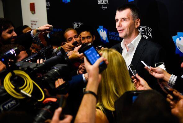 Mikhail Prokhorov - Dueño de Brooklyn Nets (No. 125, $9.9 mil millones)