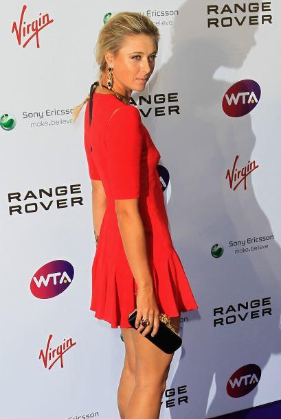 Además de ser una gran tenista, a Sharapova la buscan para ser la imagen...
