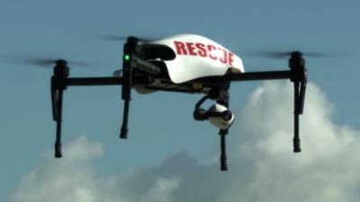 El dron del Sheriff de Los Ángeles que inquieta a defensores de derechos civiles