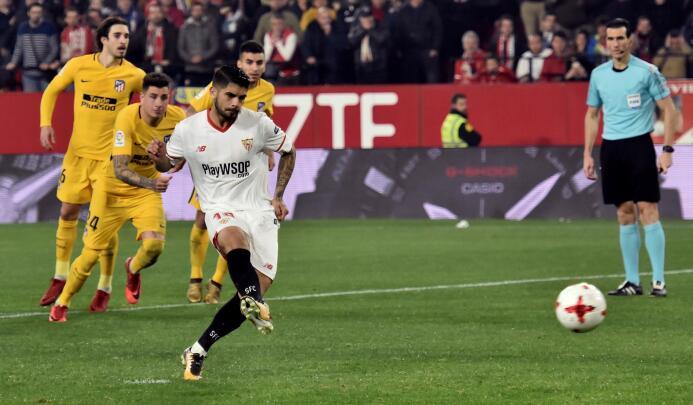 Sevilla clasificó a semifinales de Copa del Rey contra un Atlético de Ma...