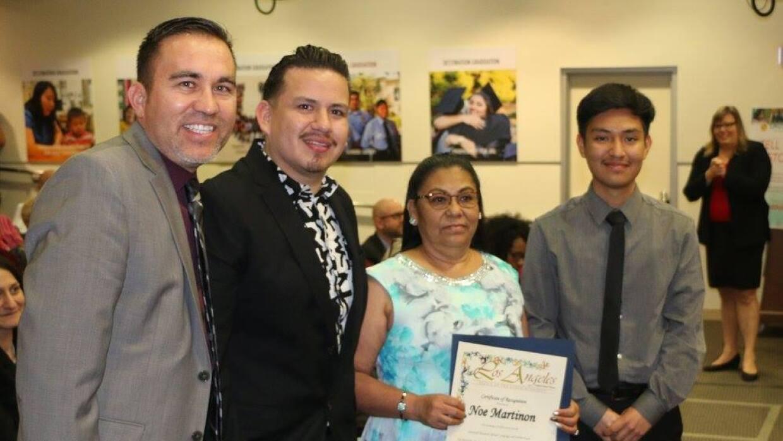 Martin Gomez, director del Santee Education Complex, el profesor de espa...