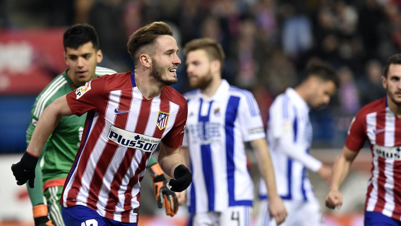 El Atlético venció a la Real Sociedad