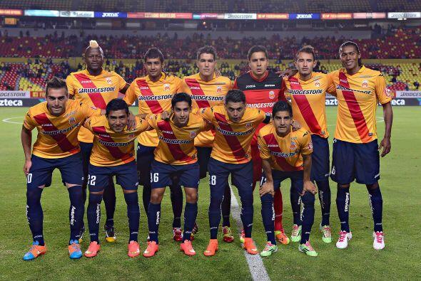 El último lugar de la Tabla General en el pasado Apertura 2014, Morelia,...