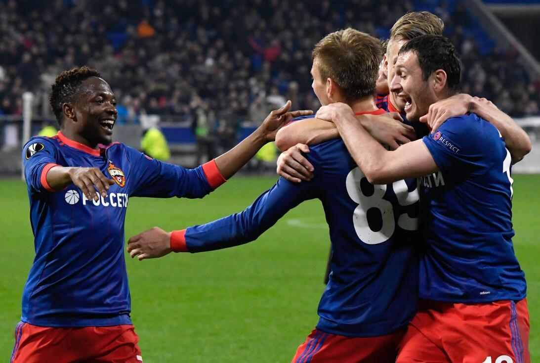 Arsenal, Salzburgo y CSKA Moscú completaron la lista de clasificados a c...