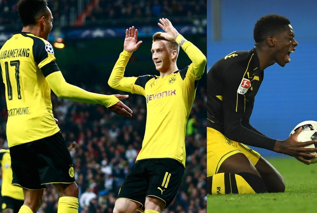 ¡Miedo! Los tríos ofensivos que dominan el fútbol de Europa Au Reus Demb...