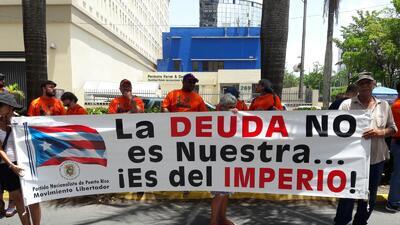 Protesta en la Milla de Oro contra las medidas de austeridad de la JSF y el Gobierno