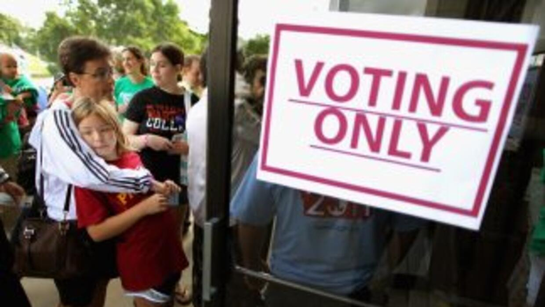 En Estados Unidos hay al menos 18 millones de votantes hispanos.