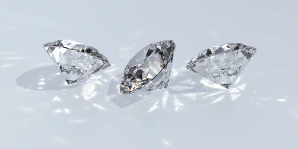 HALLARON DIAMANTES ROBADOS.  La mayoría de los 10 kilogramos de diamante...