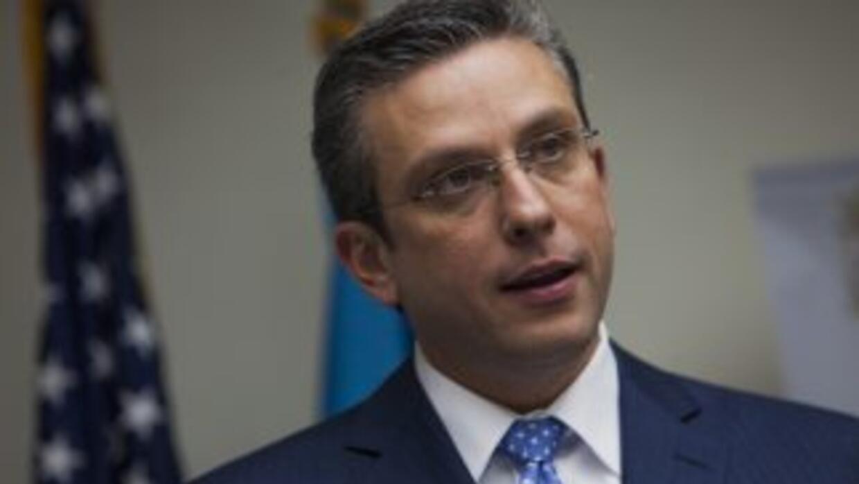 Alejandro García Padilla, gobernador de Puerto Rico.