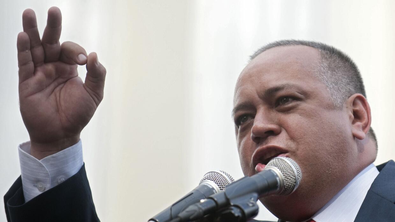 Diosdado Cabello, presidente del parlamento venezolano