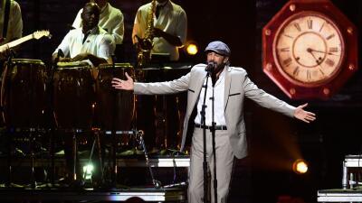 """Juan Luis Guerra ganó este año el Latin Grammy por """"Todo tiene su hora""""."""