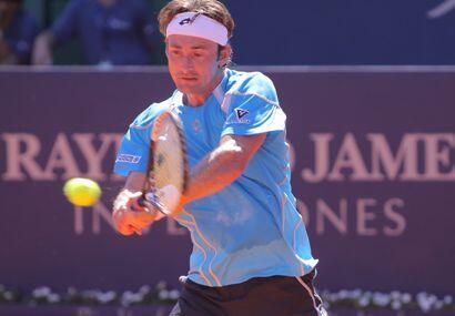 En cuartos de final se topará con el español Juan Carlos Ferrero. (ATP)