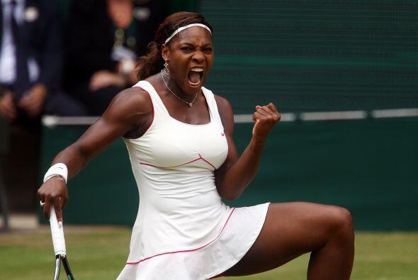 Se acercaba el momento de la victoria y Serena lucía más y más inconteni...