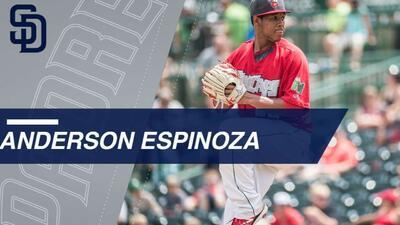 Anderson Espinoza estimó que los Padres de Luis Urías pronto darán de que hablar