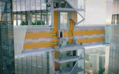 Los elevadores del futuro podrán moverse lateralmente.