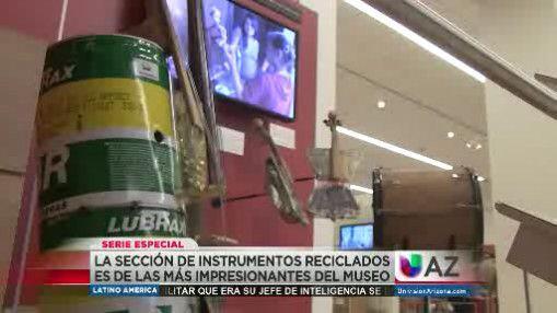 Pequeños de Paraguay encontraron en la basura interesantes instrumentos...
