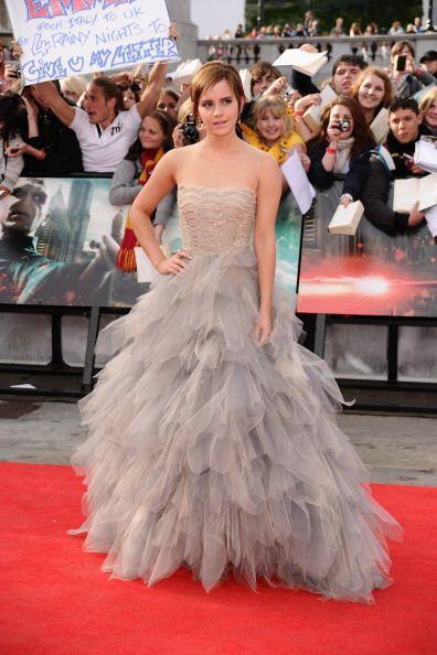 A las actrices les encanta llevar vestidos de Oscar y no cabe duda que u...