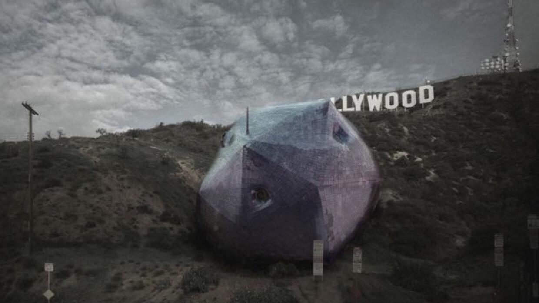 El diseño ganador del concurso para crear este futurístico hogar.