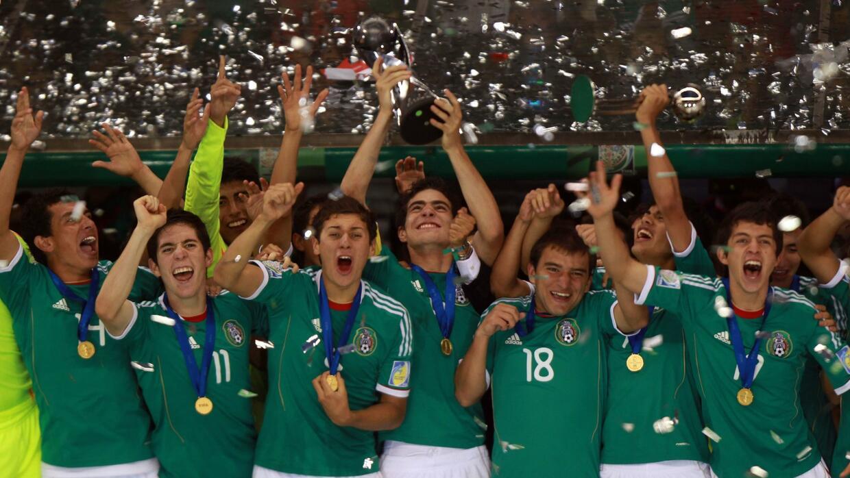 México se coronó campeón mundial Sub 17 por segunda vez en 2011.