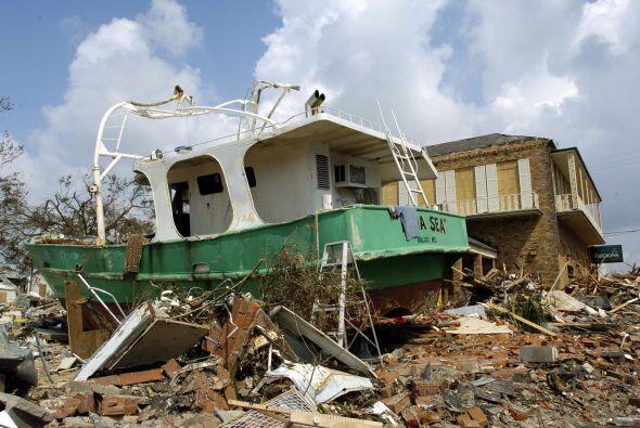 Aunque Katrina se desató días antes, lo peor llegó...