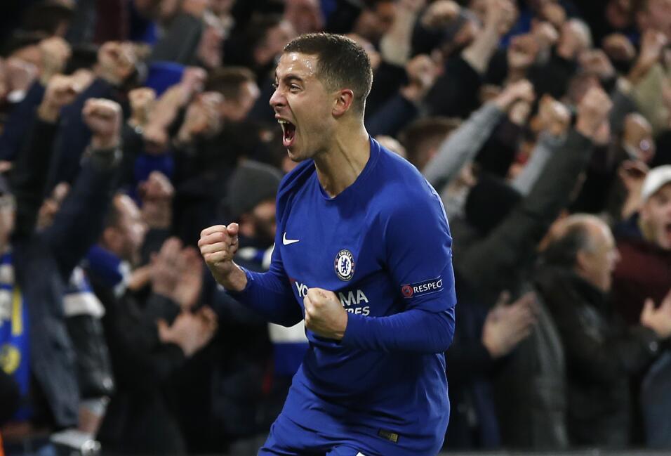 15. Eden Hazard (Chelsea / Bélgica) - 4 puntos