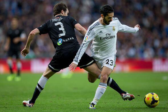 En la segunda parte el Madrid aflojó y el público comenzó a silbar a pes...