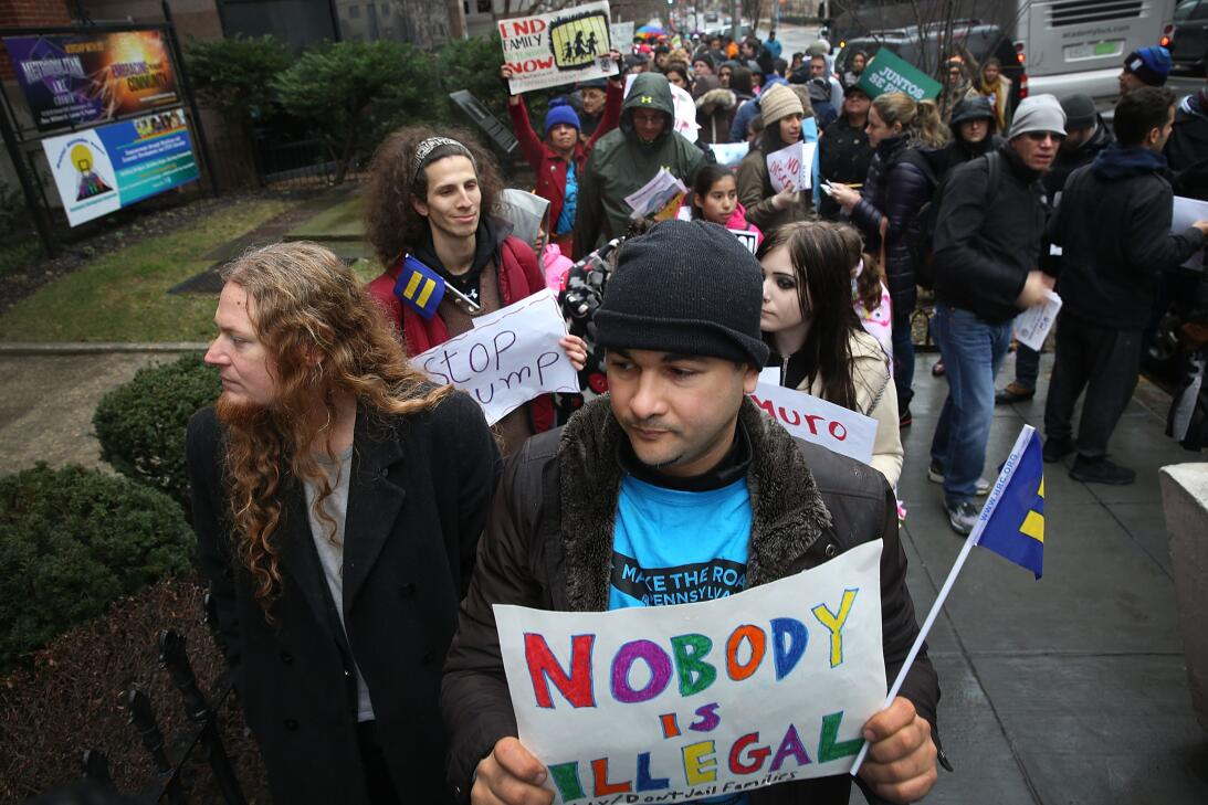 Immigrants in more than 50 cities said 'We are here to stay' (PHOTOS) Ge...